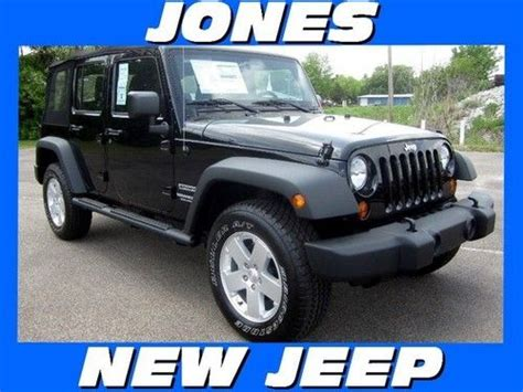 Jeep Msrp Sell New New 2013 Jeep Wrangler Unlimited 4wd Sport Msrp