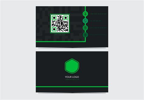 Https Www Vecteezy Free Vector Business Card Templates by Green Stylish Business Card Template Free