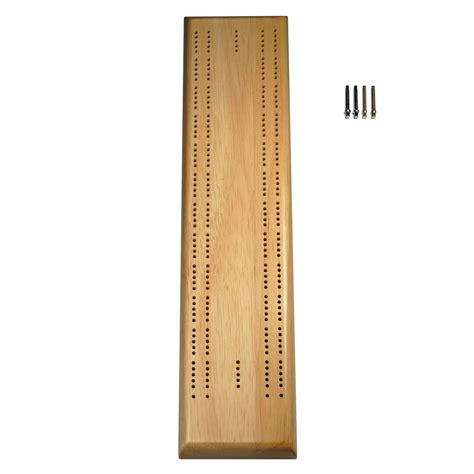 cribbage template competition cribbage set solid wood sprint 2 track board