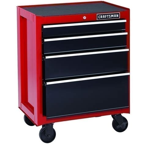 Craftsman 4 Drawer Rolling Tool Chest by Sears Craftsman 4 Drawer Bearing Rolling Tool