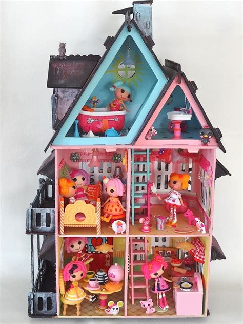 lalaloopsy doll houses 17 best images about lalaloopsy birthday party on pinterest button cake birthday