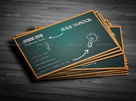 school business card templates school business cards image collections business card