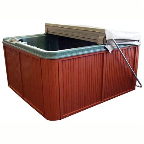 bathtub accessories spa qca spas cover butler hot tub cover lifter cbs the home