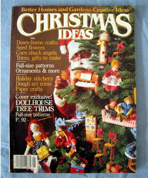 Better Homes And Gardens Craft Ideas 1980 Better Homes And Gardens Creative Idea Magazine Crafts Recipe Vtg Ebay