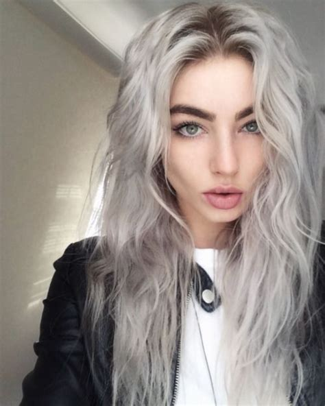 silvery blonde hair color 78 grey hairstyles to try for a hot new look