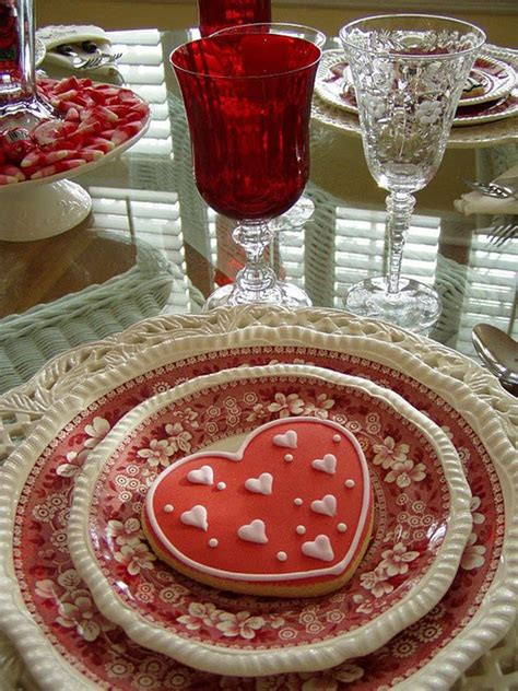 valentines day table setting s day table setting valentines day
