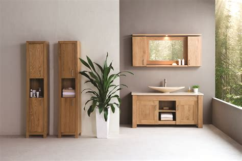 Oak Freestanding Bathroom Furniture Oak Bathroom Furniture Freestanding Best Home Design 2018