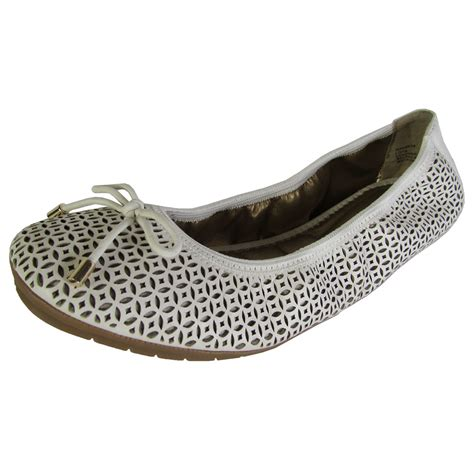 womens ballet flat shoes me womens livia leather ballet flat shoes ebay
