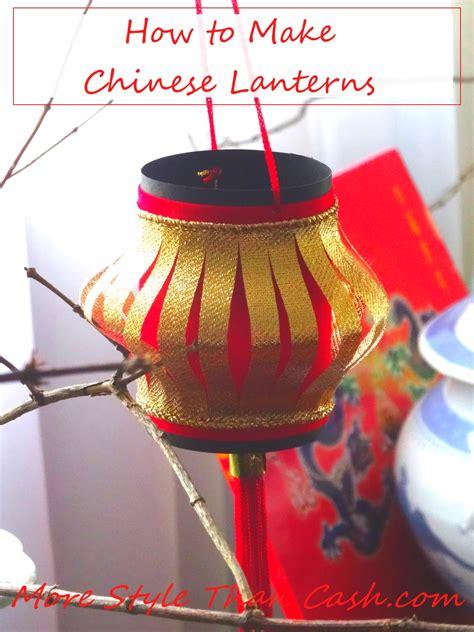 new year lanterns how to make lanterns
