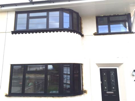 house with aluminium windows our black aluminium window frames installed in kent dwl