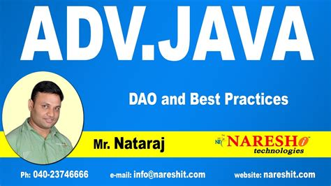 dao pattern youtube dao and best practices advanced java tutorial youtube