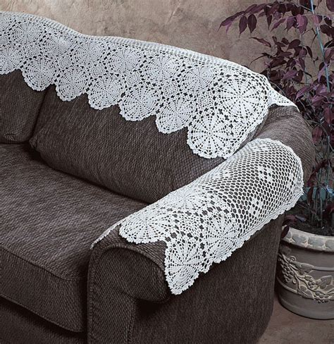 crochet sofa cover new handmade crochet lace cotton white arm sofa cover 22