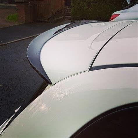 abarth 500 rear spoiler extension new