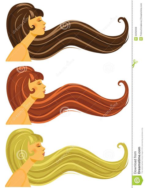 long hair stock photos royalty free images vectors long brown blond and red hair royalty free stock photos