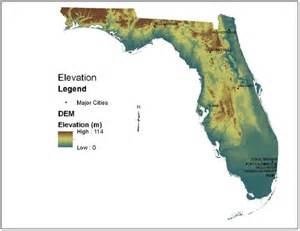 elevation map of florida review of the epa s economic analysis of water