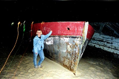 jaws orca boat remains the inside of the boat today is completely gutted out as