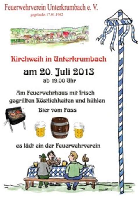 wann ist kirchweih unterkrumbach im frankenland kirchweih 2013