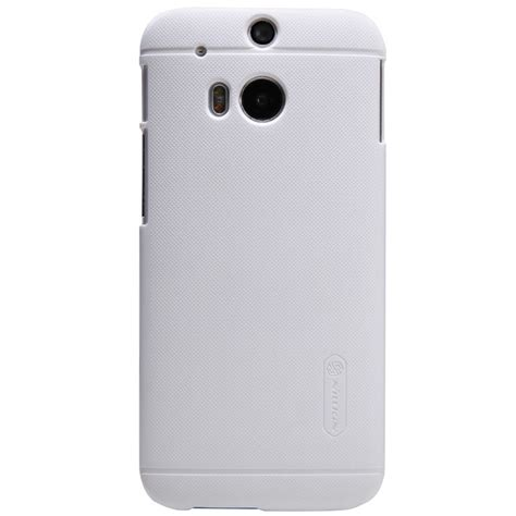 Nilkin Htc One M8 nillkin frosted shield skal till htc one m8 vit sk 228 rmskydd themobilestore
