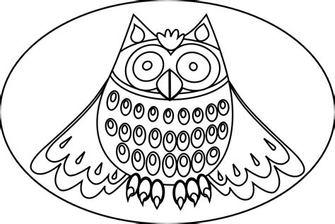 cute owl coloring pages for adults coloring pages