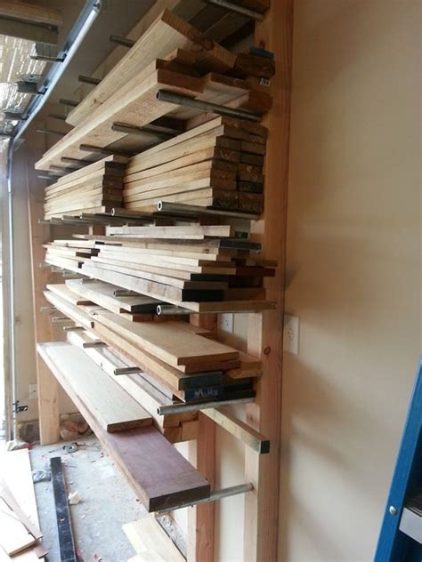 "Lumber Rack made from 3/4"" pipe   by Adrian A"