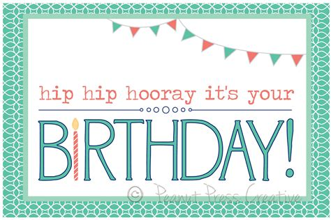 Free Printable Birthday Cards 50 Best Free Printable Birthday Cards For Her Him