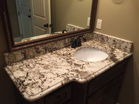 Bathroom: Elegant Bathroom Vanity Countertops With