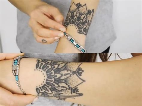 mandala tattoo on wrist top mandala wrist images for tattoos