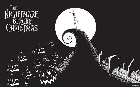 nightmare before christmas wallpaper jack the nightmare before christmas wallpapers wallpapersafari