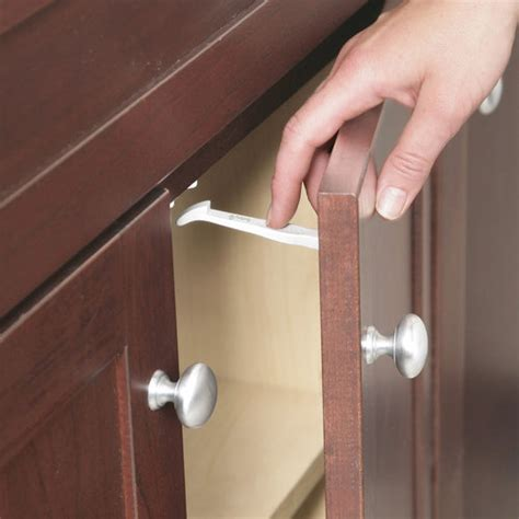 Child Proof Locks For Kitchen Cabinets Safety 1st Cabinet Drawer Latches 14 Count Walmart