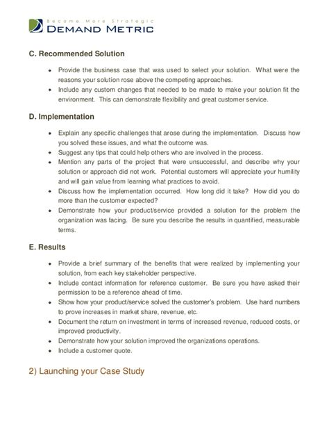 stron biz case study analysis template