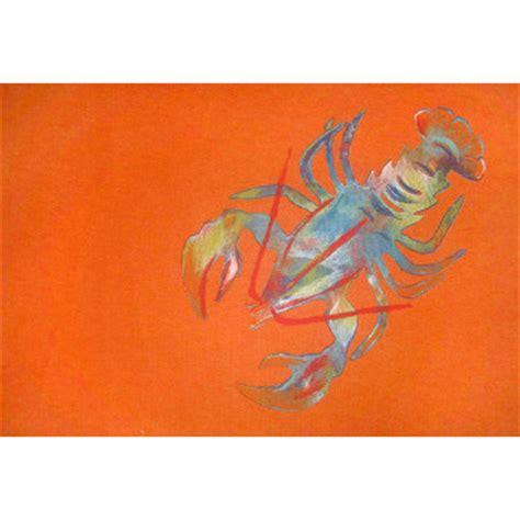 lobster rug lobster orange indoor out door rug