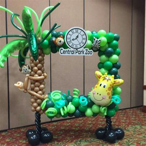 Jungle Theme Baby Shower Balloons by Pin By Beautified Creations On Balloon Decorations