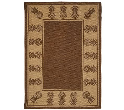 Veranda Living Indoor Outdoor Rug Veranda Living Indoor Outdoor Reversible 5 X 7 Paradise Rug Page 1 Qvc