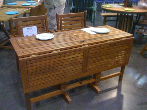 Patio Table Drop Leaf Drop Leaf Patio Table And Chairs Icamblog