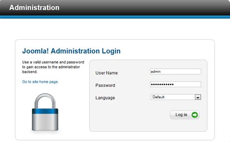 home design login change joomla administrator folder name servertechsupport