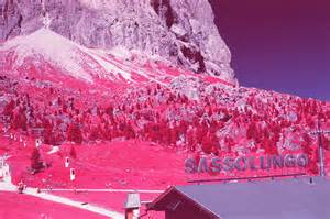 Pictures Of The Surrealist Pictures Of The Dolomites In Infrared 8 Fubiz