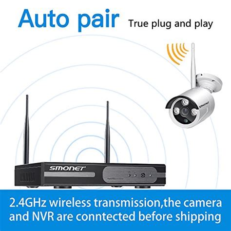 clearer than 960h smonet 4ch 720p wireless home
