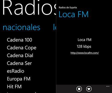cadena ser tunein las 12 mejores apps de radio para windows phone