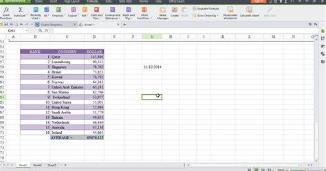 Office Spreadsheet by Wps Office 2015 Free Microsoft Office Alternative