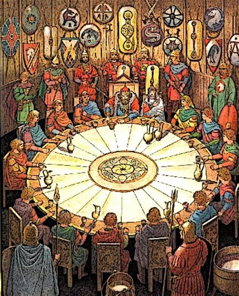 Knights Of The Table King Arthur by King Arthur