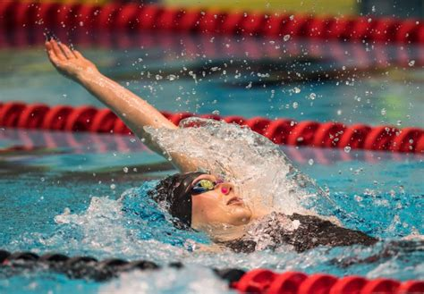 sectionals swimming cuts dominique bouchard dominates backstroke field on night one