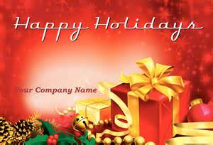 happy holidays template 11 happy card templates images happy
