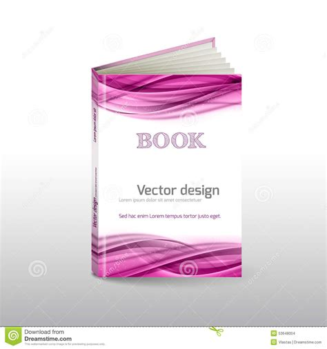book cover layout vector book cover stock illustration image 53648004