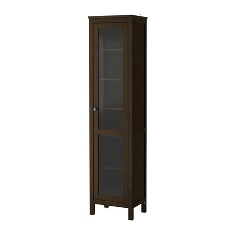 Black Glass Door Cabinet Hemnes Glass Door Cabinet Black Brown Ikea