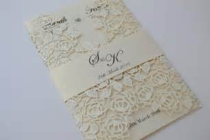 laser cut wedding invitations ivory laser cut wedding invitation beautiful wedding invitation