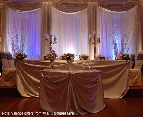 diy wedding wall drapes backdrops