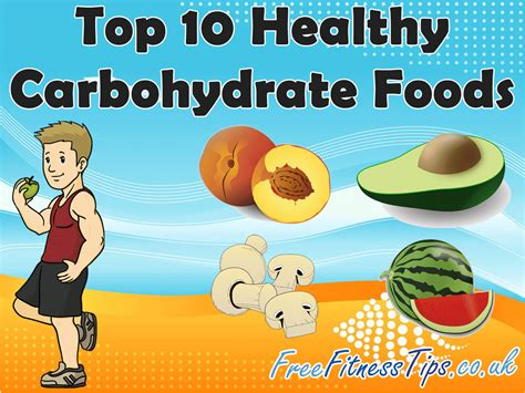 3 healthy carbohydrates top 10 healthy carbohydrate foods infographic free