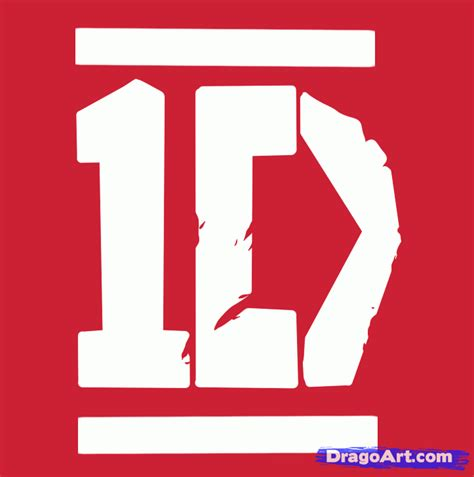 tutorial logo pop free how to draw one direction one direction step by step