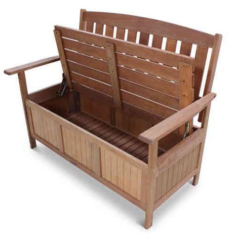 wooden garden storage bench wooden garden furniture homegenies