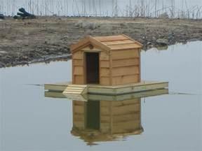 Mallard Duck House Plans Custom Floating Duck Houses